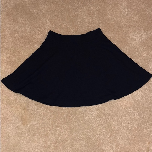Decree Dresses & Skirts - Plain black skater skirt